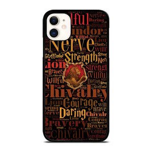 coque custodia cover fundas iphone 11 pro max 5 6 7 8 plus x xs xr se2020 C20740 HARRY POTTER CHIVALRY iPhone 11 Case