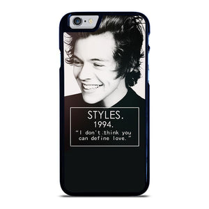 coque custodia cover fundas iphone 11 pro max 5 6 7 8 plus x xs xr se2020 C20754 HARRY STYLES 94 ONE DIRECTIONS #1 iPhone 6 / 6S Case