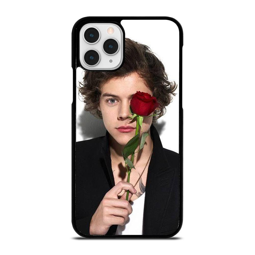 coque custodia cover fundas iphone 11 pro max 5 6 7 8 plus x xs xr se2020 C20793 HARRY STYLES ROSE iPhone 11 Pro Case