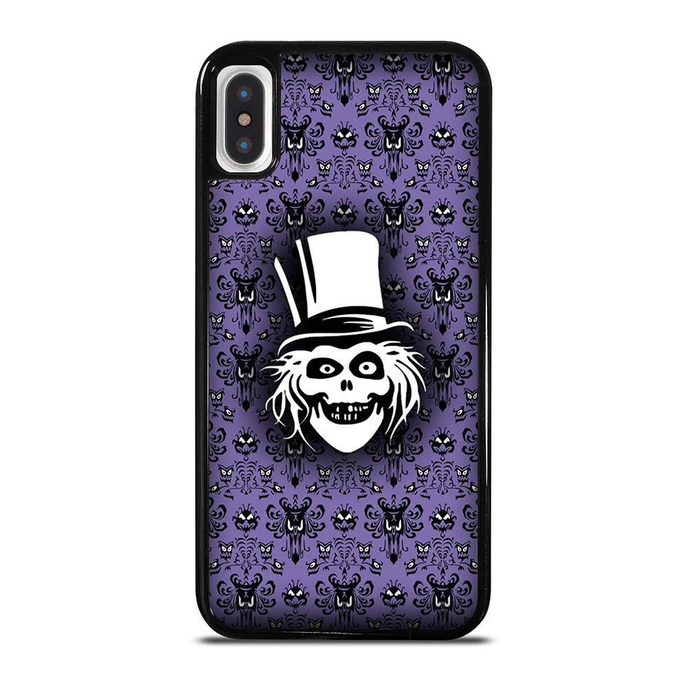 coque custodia cover fundas iphone 11 pro max 5 6 7 8 plus x xs xr se2020 C20865 HAUNTED MANSION GHOST 1 iPhone X / XS Case