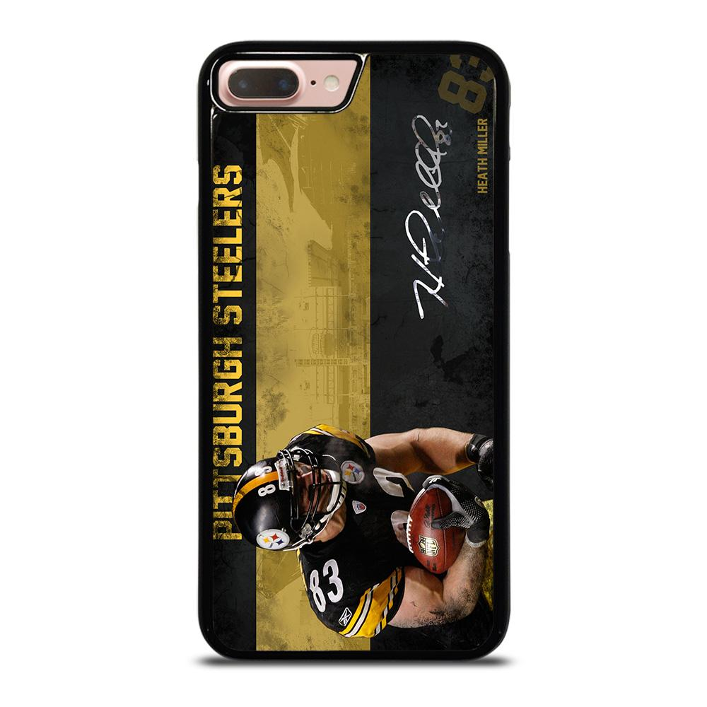 coque custodia cover fundas iphone 11 pro max 5 6 7 8 plus x xs xr se2020 C20939 HEATH MILLER PITTSBURGH STEELERS iPhone 7 / 8 Plus Case