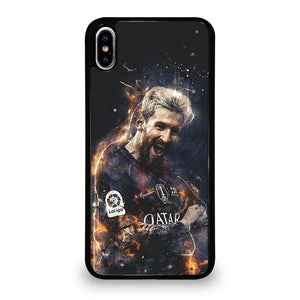coque custodia cover fundas iphone 11 pro max 5 6 7 8 plus x xs xr se2020 C24146 LEO MESSI FCB iPhone XS Max Case