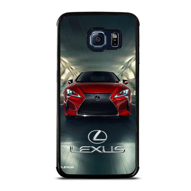 coque custodia cover fundas hoesjes j3 J5 J6 s20 s10 s9 s8 s7 s6 s5 plus edge D31711 LEXUS RED CAR LOGO #1 Samsung Galaxy S6 Edge Case