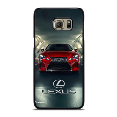 coque custodia cover fundas hoesjes j3 J5 J6 s20 s10 s9 s8 s7 s6 s5 plus edge D31712 LEXUS RED CAR LOGO #1 Samsung Galaxy S6 Edge Plus Case