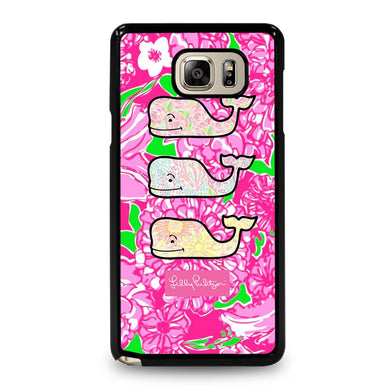 coque custodia cover fundas hoesjes j3 J5 J6 s20 s10 s9 s8 s7 s6 s5 plus edge D32006 LILLY PULITZER VINEYARD VINES 1 Samsung Galaxy Note 5 Case