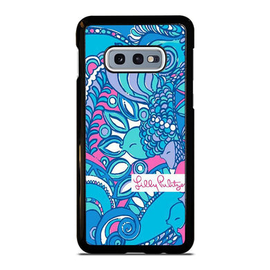 coque custodia cover fundas hoesjes j3 J5 J6 s20 s10 s9 s8 s7 s6 s5 plus edge D31975 LILLY PULITZER SEA JEWELS Samsung Galaxy S10 e Case