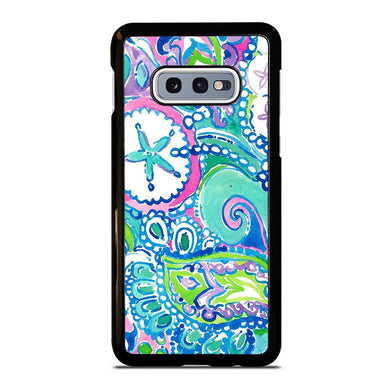 coque custodia cover fundas hoesjes j3 J5 J6 s20 s10 s9 s8 s7 s6 s5 plus edge D31993 LILLY PULITZER STAR Samsung Galaxy S10 e Case