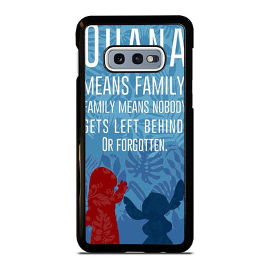 coque custodia cover fundas hoesjes j3 J5 J6 s20 s10 s9 s8 s7 s6 s5 plus edge D32069 LILO AND STITCH FAVORITE QUOTES Samsung Galaxy S10 e Case