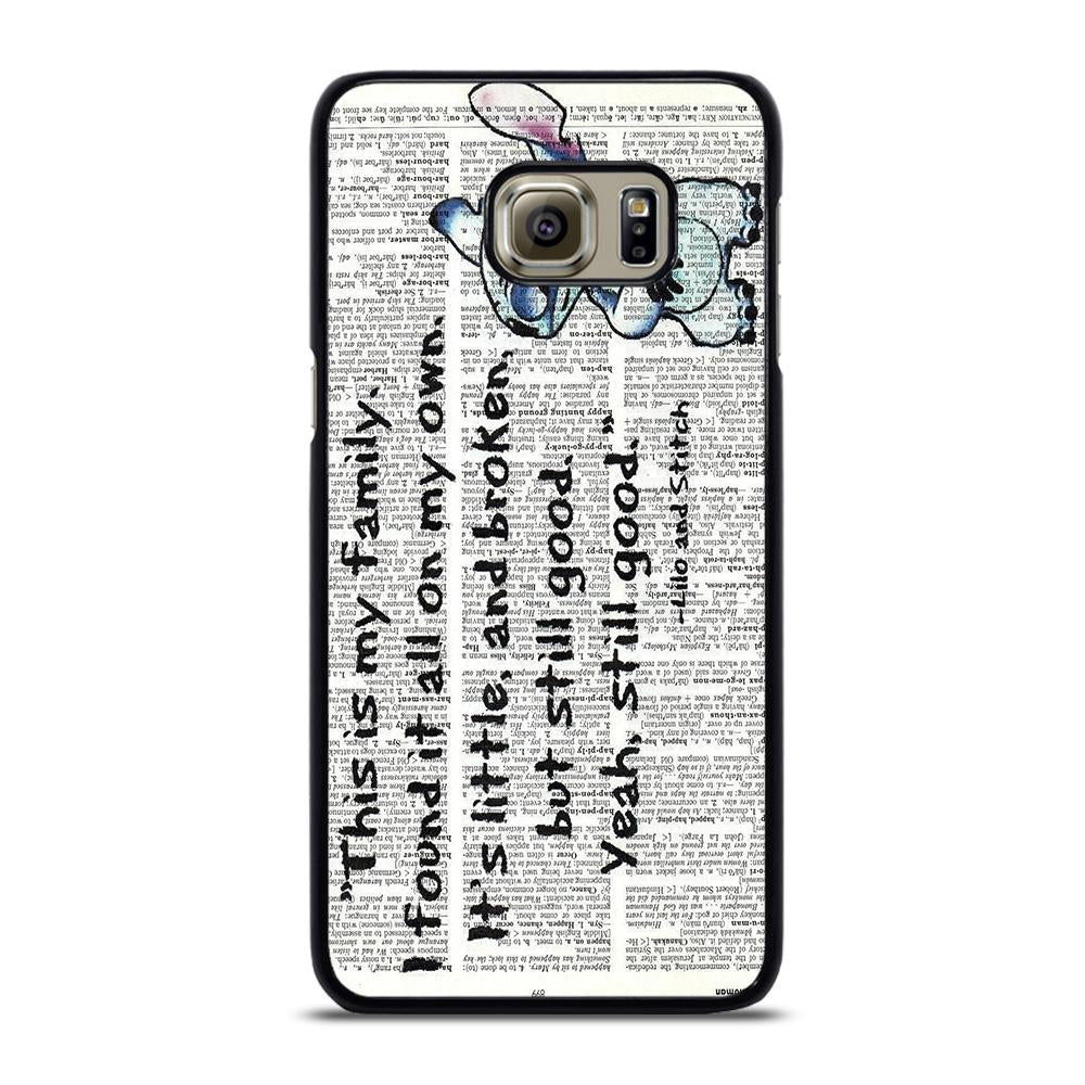 coque custodia cover fundas hoesjes j3 J5 J6 s20 s10 s9 s8 s7 s6 s5 plus edge D32097 LILO AND STITCH QUOTES DISNEY Samsung Galaxy S6 Edge Plus Case