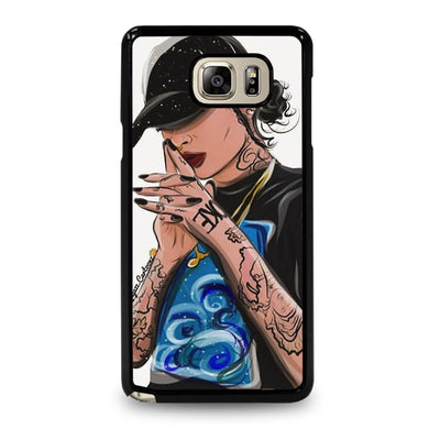 coque custodia cover fundas hoesjes j3 J5 J6 s20 s10 s9 s8 s7 s6 s5 plus edge D31904 LIL' LAY LOW KEHLANI 3 Samsung Galaxy Note 5 Case
