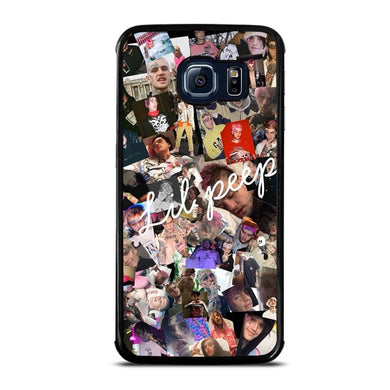 coque custodia cover fundas hoesjes j3 J5 J6 s20 s10 s9 s8 s7 s6 s5 plus edge D31798 LIL PEEP COLLAGE Samsung Galaxy S6 Edge Case