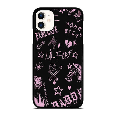 coque custodia cover fundas iphone 11 pro max 5 6 7 8 plus x xs xr se2020 C24244 LIL PEEP LIFE IS BEAUTIFUL iPhone 11 Case