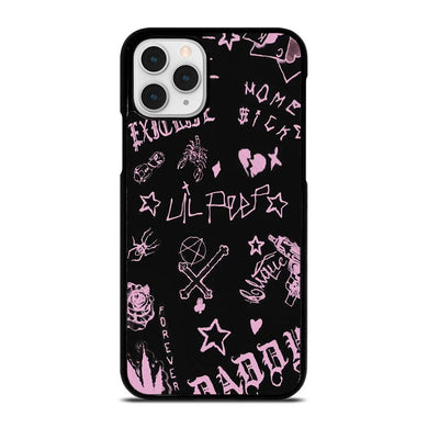 coque custodia cover fundas iphone 11 pro max 5 6 7 8 plus x xs xr se2020 C24245 LIL PEEP LIFE IS BEAUTIFUL iPhone 11 Pro Case