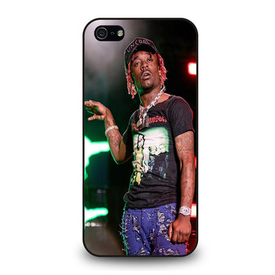 coque custodia cover fundas iphone 11 pro max 5 6 7 8 plus x xs xr se2020 C24258 LIL UZI VERT #2 iPhone 5/5S/SE Case