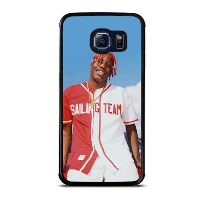 coque custodia cover fundas hoesjes j3 J5 J6 s20 s10 s9 s8 s7 s6 s5 plus edge D31876 LIL YACHTY #1 Samsung Galaxy S6 Edge Case