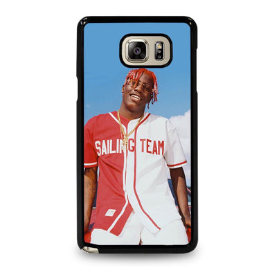 coque custodia cover fundas hoesjes j3 J5 J6 s20 s10 s9 s8 s7 s6 s5 plus edge D31868 LIL YACHTY #1 Samsung Galaxy Note 5 Case