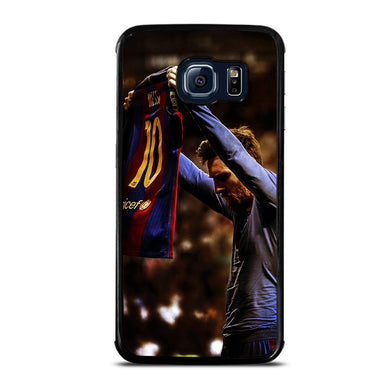coque custodia cover fundas hoesjes j3 J5 J6 s20 s10 s9 s8 s7 s6 s5 plus edge D32164 LIONEL MESSI #5 Samsung Galaxy S6 Edge Case
