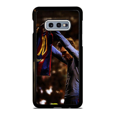 coque custodia cover fundas hoesjes j3 J5 J6 s20 s10 s9 s8 s7 s6 s5 plus edge D32161 LIONEL MESSI #5 Samsung Galaxy S10 e Case