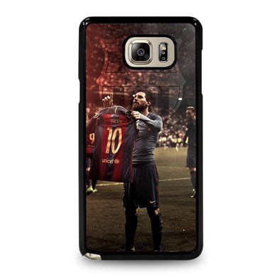 coque custodia cover fundas hoesjes j3 J5 J6 s20 s10 s9 s8 s7 s6 s5 plus edge D32174 LIONEL MESSI #6 Samsung Galaxy Note 5 Case