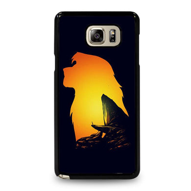 coque custodia cover fundas hoesjes j3 J5 J6 s20 s10 s9 s8 s7 s6 s5 plus edge D32121 LION KING PRIDE ROCK Samsung Galaxy Note 5 Case