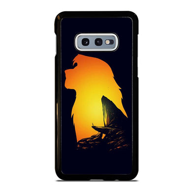 coque custodia cover fundas hoesjes j3 J5 J6 s20 s10 s9 s8 s7 s6 s5 plus edge D32126 LION KING PRIDE ROCK Samsung Galaxy S10 e Case