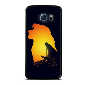 coque custodia cover fundas hoesjes j3 J5 J6 s20 s10 s9 s8 s7 s6 s5 plus edge D32129 LION KING PRIDE ROCK Samsung Galaxy S6 Edge Case