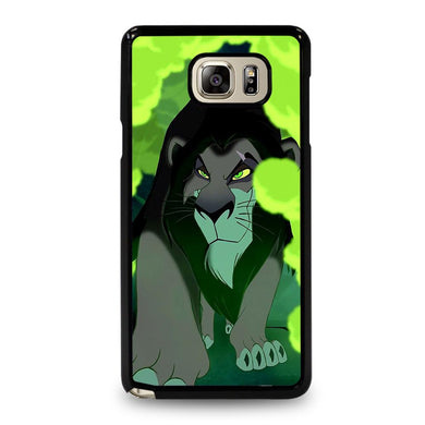 coque custodia cover fundas hoesjes j3 J5 J6 s20 s10 s9 s8 s7 s6 s5 plus edge D32139 LION KING SCAR MUFASA DISNEY Samsung Galaxy Note 5 Case