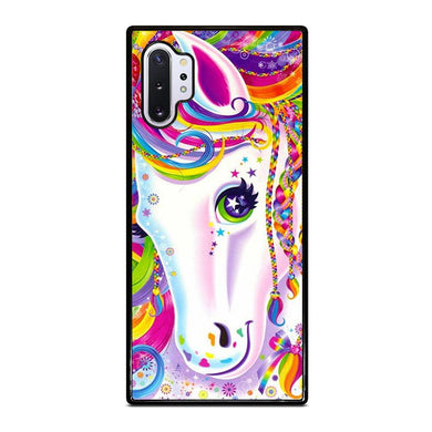 coque custodia cover fundas hoesjes j3 J5 J6 s20 s10 s9 s8 s7 s6 s5 plus edge D32251 LISA FRANK HORSE #1 Samsung Galaxy Note 10 Plus Case
