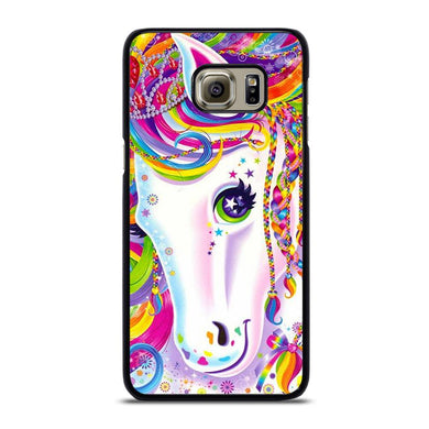 coque custodia cover fundas hoesjes j3 J5 J6 s20 s10 s9 s8 s7 s6 s5 plus edge D32260 LISA FRANK HORSE #1 Samsung Galaxy S6 Edge Plus Case