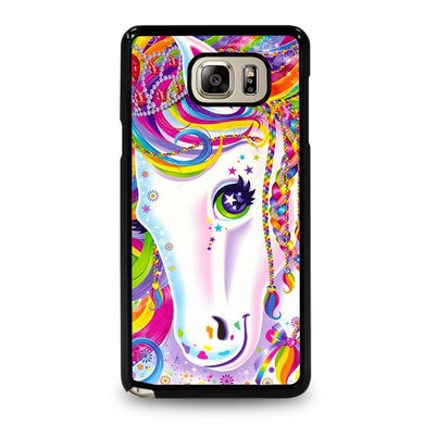 coque custodia cover fundas hoesjes j3 J5 J6 s20 s10 s9 s8 s7 s6 s5 plus edge D32252 LISA FRANK HORSE #1 Samsung Galaxy Note 5 Case