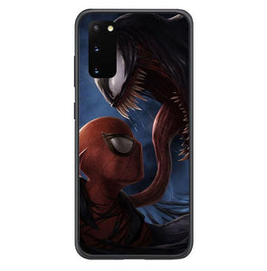 coque custodia cover fundas hoesjes j3 J5 J6 s20 s10 s9 s8 s7 s6 s5 plus edge B35897 spiderman o venom FF0075 Samsung Galaxy S20 Case