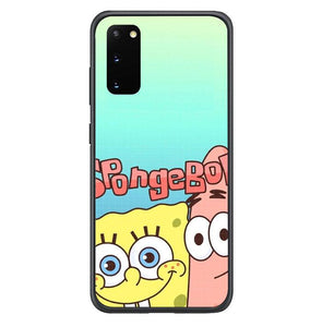 coque custodia cover fundas hoesjes j3 J5 J6 s20 s10 s9 s8 s7 s6 s5 plus edge B36099 Spongebob FF0207 Samsung Galaxy S20 Case