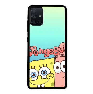 coque custodia cover fundas hoesjes j3 J5 J6 s20 s10 s9 s8 s7 s6 s5 plus edge B36090 Spongebob FF0207 Samsung Galaxy A51 Case