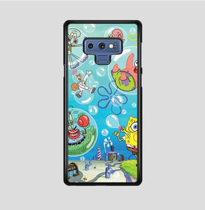 coque custodia cover fundas hoesjes j3 J5 J6 s20 s10 s9 s8 s7 s6 s5 plus edge B36064 Spongbob FF10017 Samsung Galaxy Note 9 Case