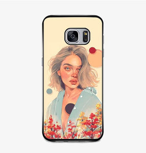 coque custodia cover fundas hoesjes j3 J5 J6 s20 s10 s9 s8 s7 s6 s5 plus edge B36138 Spring Season Art FF5022 Samsung Galaxy S7 Case