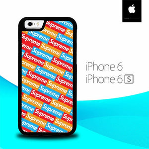 Sticker Supreme Pattern O0776 fundas iPhone 6, iPhone 6S