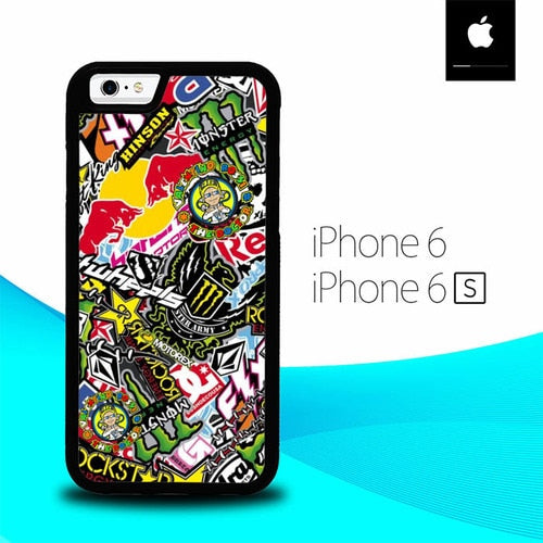 Sticker Boomber O1264 fundas iPhone 6, iPhone 6S