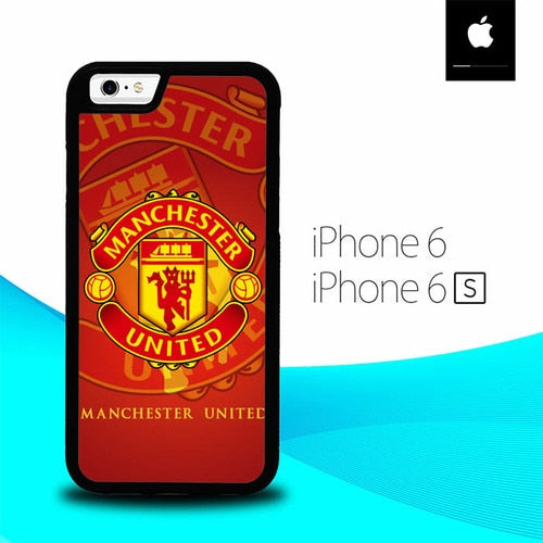 Mancaster United Logo O1272 fundas iPhone 6, iPhone 6S