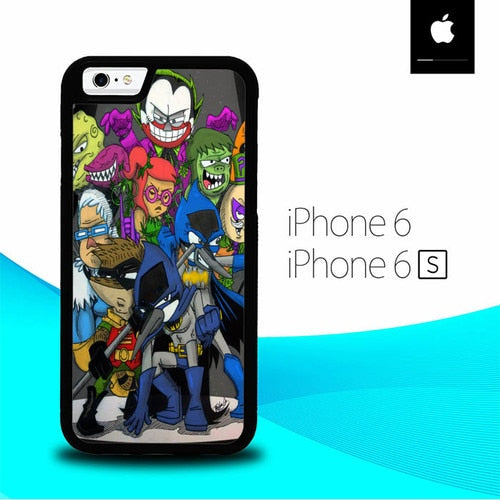 Regular Show Batman O3130 fundas iPhone 6, iPhone 6S