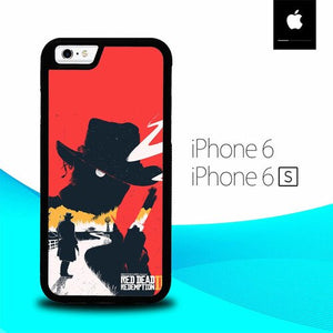 Red Dead Redemption II O6559 fundas iPhone 6, iPhone 6S