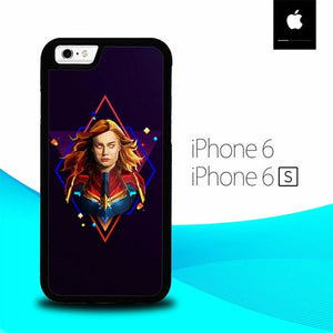 Captain Marvel O6710 fundas iPhone 6, iPhone 6S