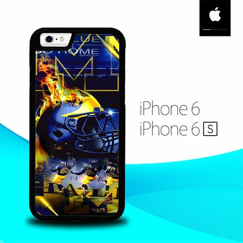 Go blue its are year Michigan O7050 fundas iPhone 6, iPhone 6S