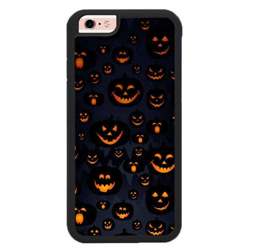 Scary Halloween Pumpkin Masks O7265 fundas iPhone 6, iPhone 6S