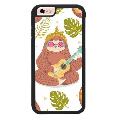 Monkey Relax in Mind O7282 fundas iPhone 6, iPhone 6S