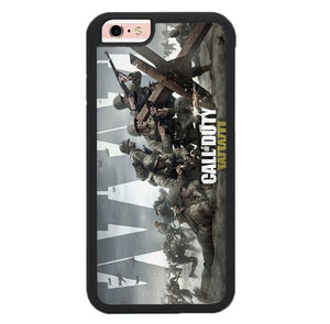 Call of Duty WWII Battle O7326 fundas iPhone 6, iPhone 6S