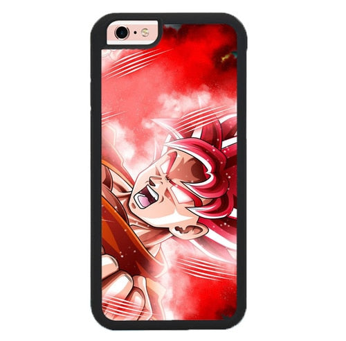 Dragon Ball Z Goku O7389 fundas iPhone 6, iPhone 6S