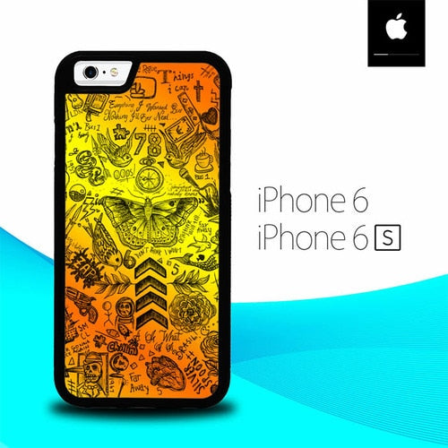One Direction Tattoos O7447 fundas iPhone 6, iPhone 6S