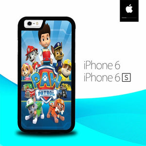 Paw Patrol O7461 fundas iPhone 6, iPhone 6S