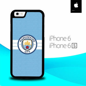 Manchester city O7677 fundas iPhone 6, iPhone 6S