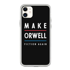 basic orwell 1984 anti trump gift political fundas iphone 11